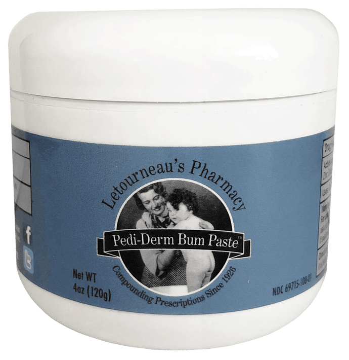 Pedi-Derm Bum Paste | 4oz Jar