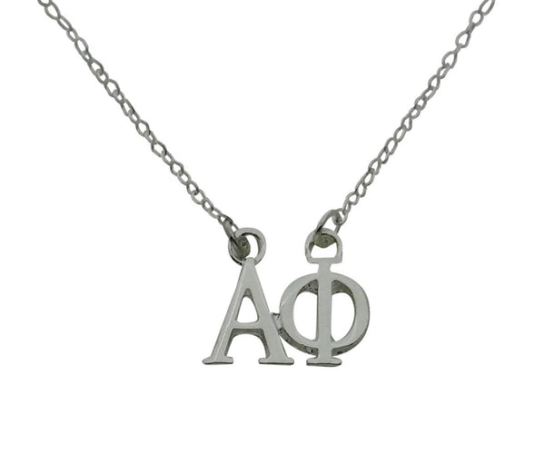 Alpha Phi Greek Sorority Lavalier Necklace Pendant Sorority Floating Necklace