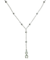 Alpha Chi Omega Beaded Y Sorority Necklace Jewelry