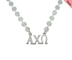 Alpha Chi Omega Sorority Jewelry Choker Floating Sorority Necklace