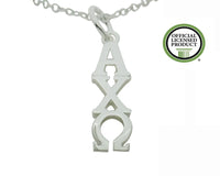 Alpha Chi Omega Greek Sorority Lavalier Pendant Necklace - DKGifts.com