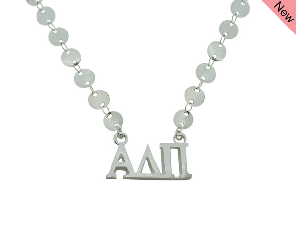 Alpha Delta Pi Sorority Jewelry Choker Floating Sorority Necklace