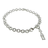 Alpha Delta Pi Rolo Sorority Bracelet with Lobster Clasp - DKGifts.com