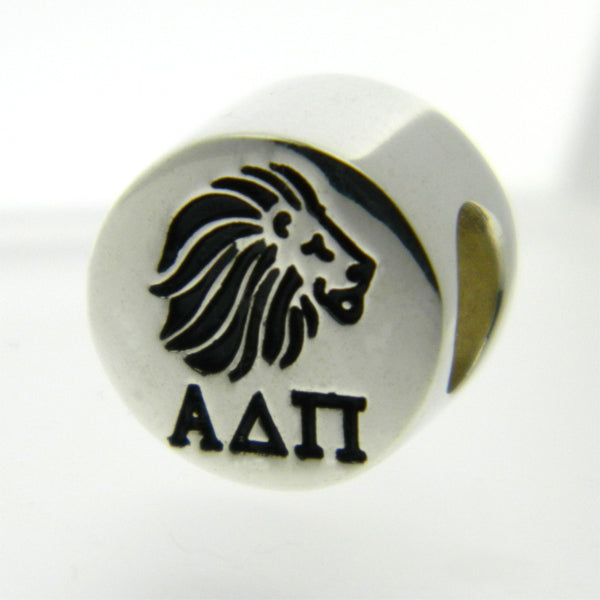Alpha Delta Pi Lion Greek Sorority Bead European Big Hole Bead