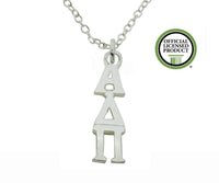 Alpha Delta Pi Greek Sorority Lavalier Pendant Necklace - DKGifts.com