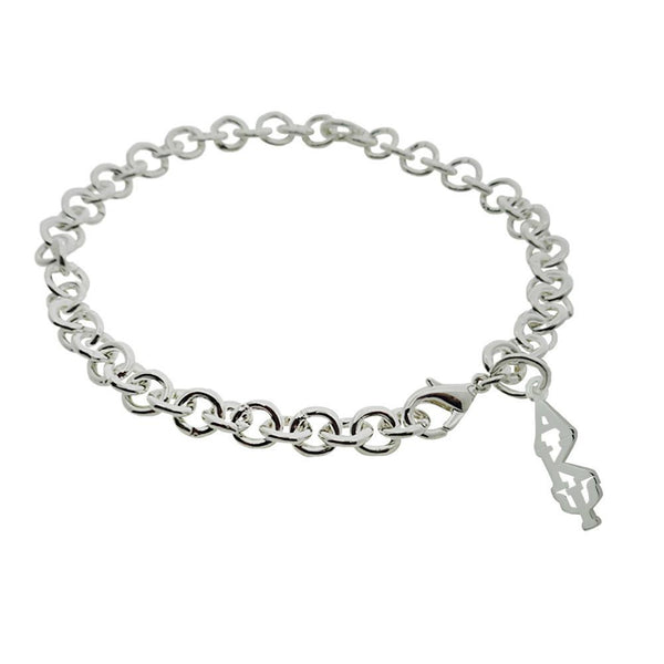 Alpha Kappa Psi Rolo Sorority Bracelet with Lobster Clasp - DKGifts.com