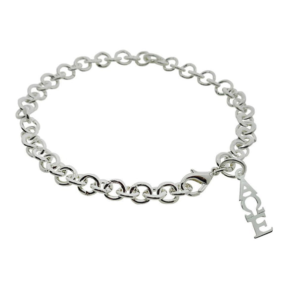 Alpha Omega Epsilon Rolo Sorority Bracelet with Lobster Clasp - DKGifts.com