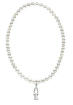 Alpha Omega Epsilon Stretch Pearl Sorority Necklace Greek Sorority Pearl Necklace