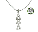 Alpha Xi Delta Greek Sorority Lavalier Charm Drop Necklace - DKGifts.com
