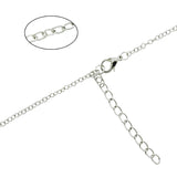 Tri Delta Delta Delta Greek Sorority Lavalier Necklace Floating Sorority Necklace