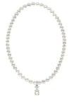 Chi Omega Stretch Pearl Sorority Necklace Greek Sorority Pearl Necklace