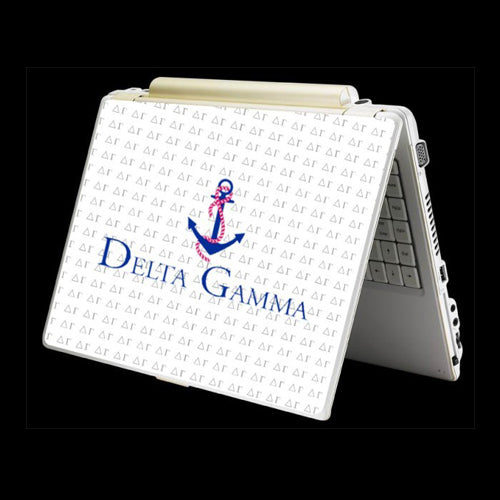 Delta Gamma Sorority Laptop Skin Sticker Cover Decal Art -- One Size Fits All