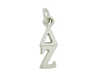 Delta Zeta Greek Sorority Lavalier Pendant Necklace - DKGifts.com