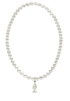 Delta Zeta Stretch Pearl Sorority Necklace Greek Sorority Pearl Necklace