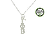 Gamma Phi Beta Greek Sorority Lavalier Pendant Necklace - DKGifts.com