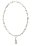 Gamma Phi Beta Stretch Pearl Sorority Necklace Greek Sorority Pearl Necklace