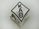 Kappa Alphta Theta Kite Sorority Bead European Big Hole Bead
