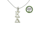 Kappa Delta Greek Sorority Lavalier Charm Drop Necklace - DKGifts.com