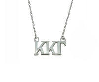 Kappa Kappa Gamma Floating Sorority Lavalier Necklace