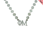 Phi Mu Sorority Jewelry Choker Floating Sorority Necklace