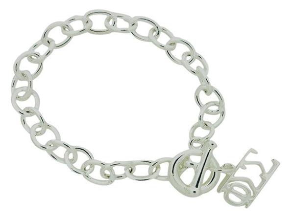 Phi Sigma Sigma Sorority Bracelet with Toggle Clasp - DKGifts.com
