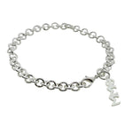Phi Sigma Sigma Rolo Sorority Bracelet with Lobster Clasp - DKGifts.com