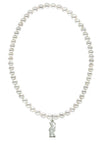 Sigma Kappa Stretch Pearl Sorority Necklace Greek Sorority Pearl Necklace