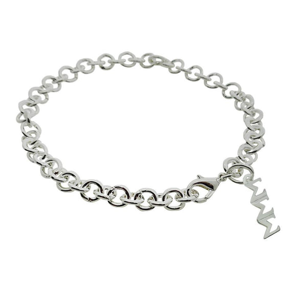 Tri Sigma Sigma Sigma Rolo Sorority Bracelet with Lobster Clasp - DKGifts.com
