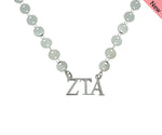 Zeta Tau Alpha Sorority Jewelry Choker Floating Sorority Necklace