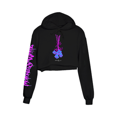 Eternally Yours Neon Crop Hoodie
