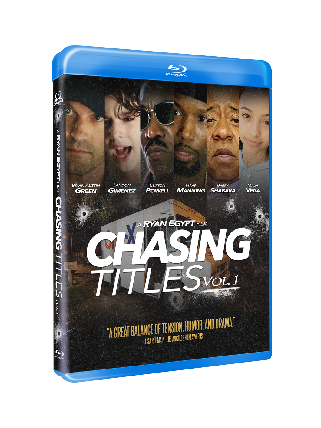 Chasing Titles: Vol. 1  - Blu-ray +Get Money - Single - 2018