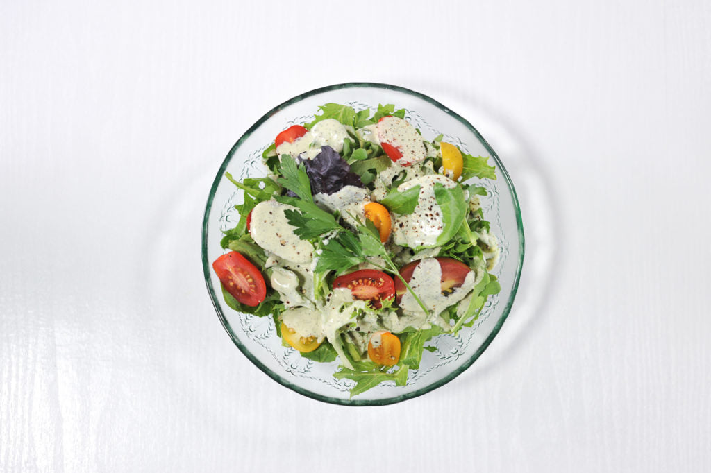 Healthy Ranch Dressing Using Cashews