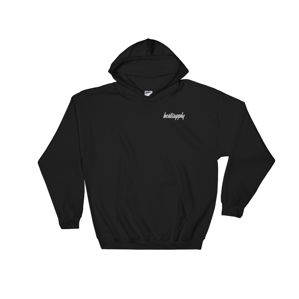 Beatsupply Unisex Logo Hooded Sweatshirt