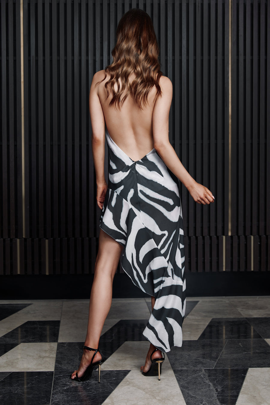 LEILA DRESS | ZEBRA