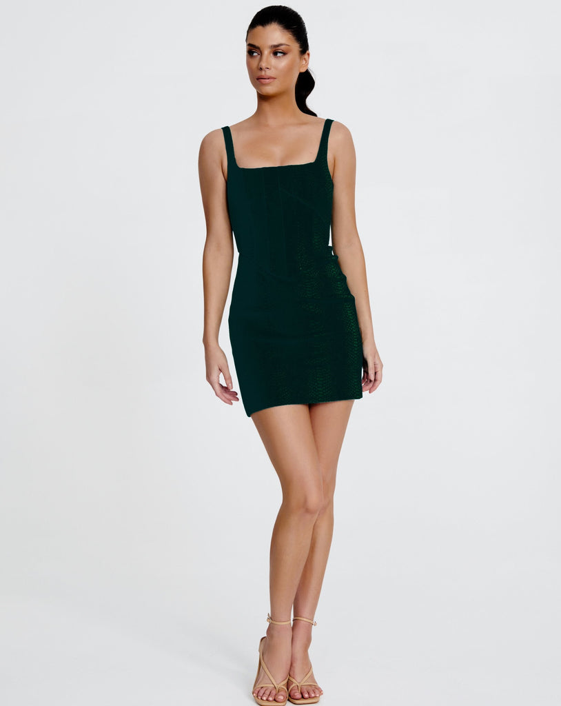 NATALIA MINI DRESS | BLACK