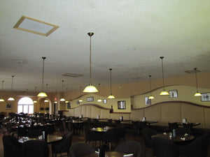 Amy's Restaurant lit inside and out by 24V Watt-a-Light LEDs