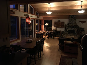Cortes Island off-grid beauty lit by Watt-a-Light™