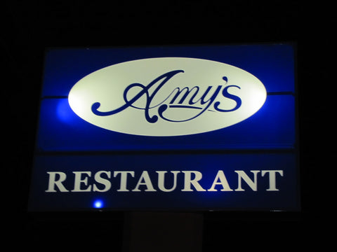 Amy's Restaurant Sign