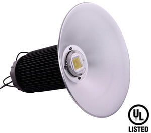 80W LED High Bay Light with Reflector 120/240 VAC - Watt-a-Light