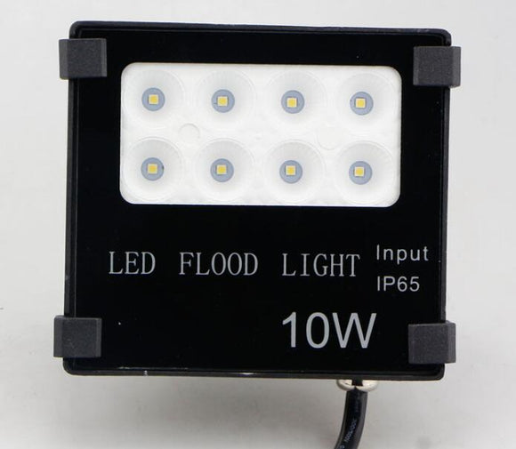 10W Flood Light 12V DC LED 50 Degree 115L/W