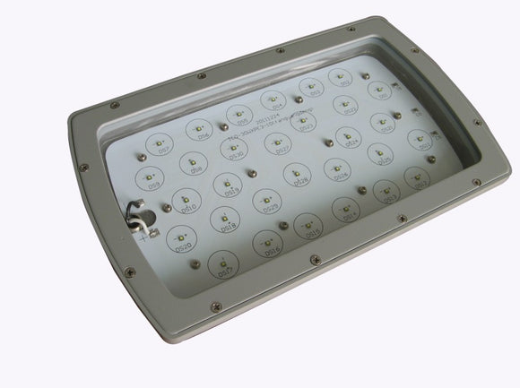 30W 24V DC LED Marine Flood Light 115 Degree 120 Lumens/Watt - Watt-a-Light