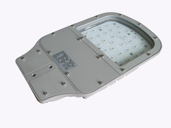 30W 24V DC LED Street Light 115 Degree 120 Lumens/Watt