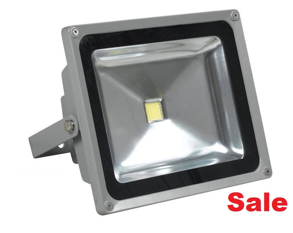 30W LED Flood Light 120 Degree 110/240VAC - Watt-a-Light