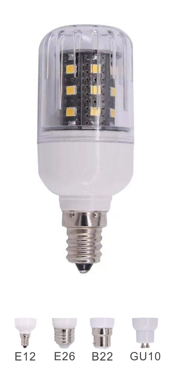 3 Watt LED Corn Bulb | 24V DC | B22 Base