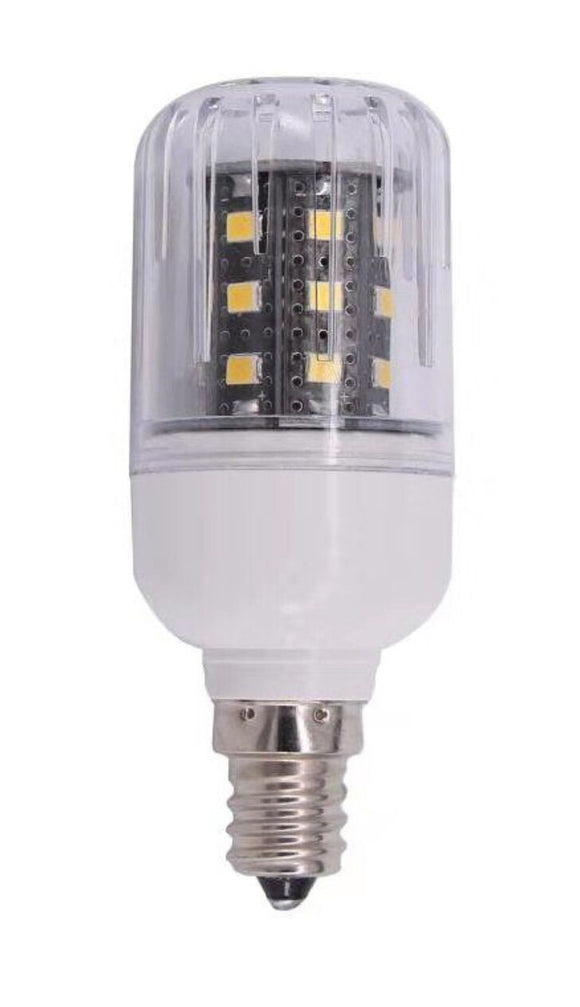 5 Watt LED Corn Bulb | 12V DC | E12 Candelabra Base