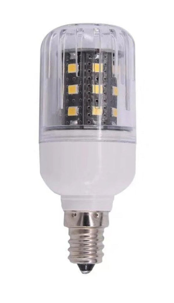 3 Watt LED Corn Bulb | 48V DC | E12 Candelabra Base