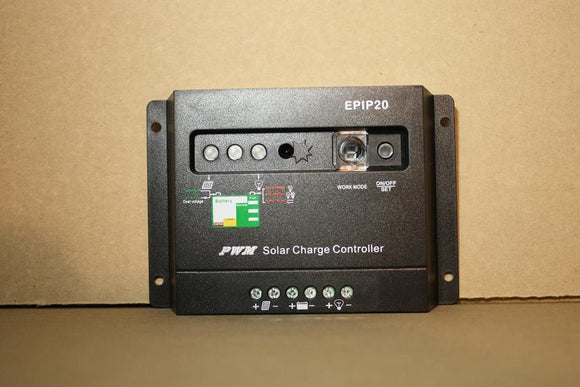 20 Amp 12 & 24V DC Combination Solar Charge/Light Controller