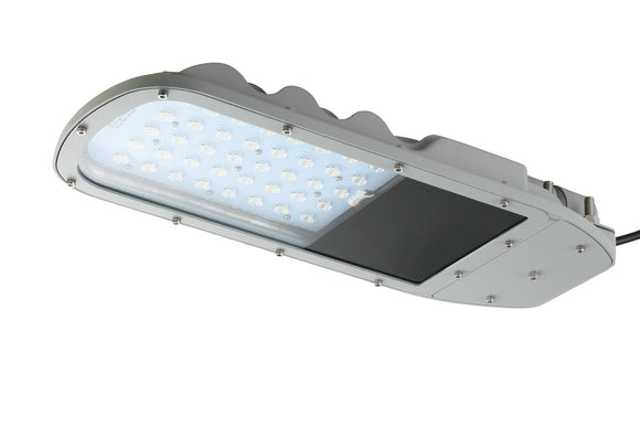 40W 12V DC LED Street Light 150 Lumens/Watt - Watt-a-Light