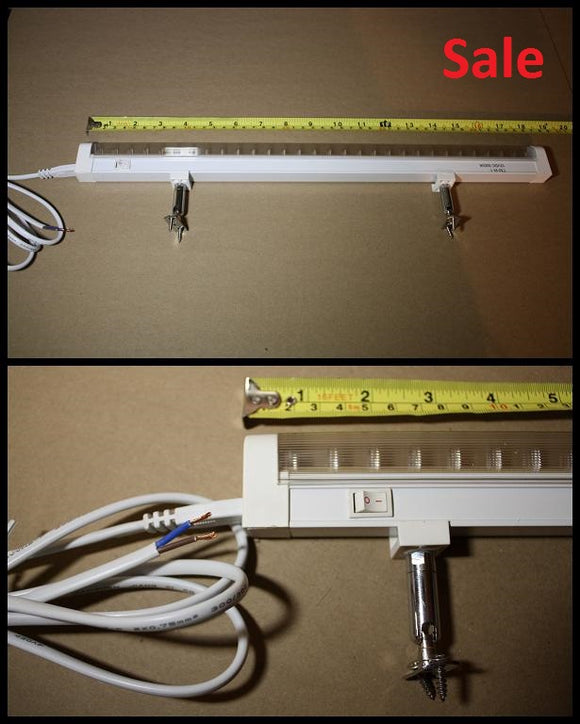 30 LED 12VDC Fixture with Switch and 5.5ft Cord - Watt-a-Light