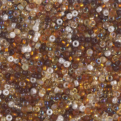 11-MIX-21 - 11/0 Miyuki Seed Bead Mix, Golden Grains | 125 Grams